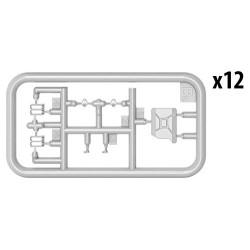KAEMINGK PLASTIC BEAD GARLAND XL 1108