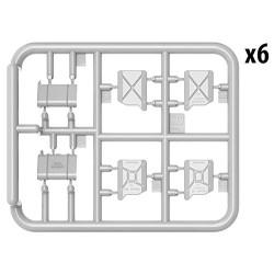KAEMINGK PLASTIC BEAD GARLAND XL 1112