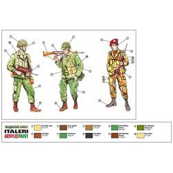 Confezione 10 cartelline a L CAPRI TRASPARENTI LISCE colore ROSSO formato A4 (21..
