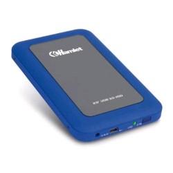 "HAMLET BOX PER HDD 2.5"" USB 3.0 COLORE BLU"